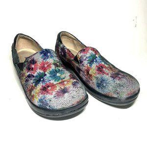 Alegria Keli Womens Clog Shoes Multicolor Leather